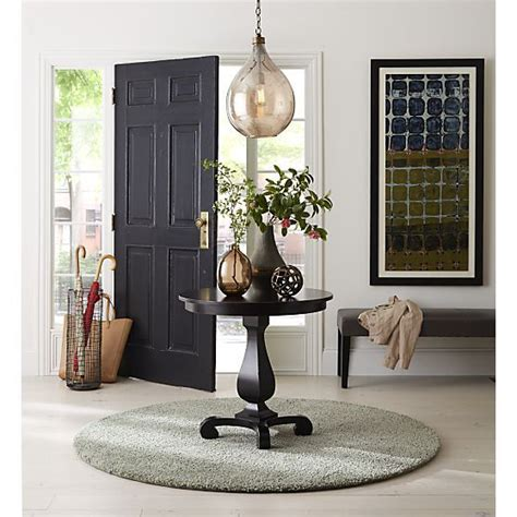 Pedestal Foyer Table by Esme Bruno Pedestal Table As Entryway Table Crate And