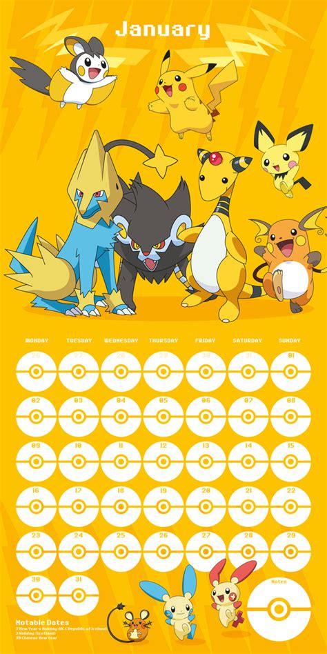 pokemon calendars abposterscom