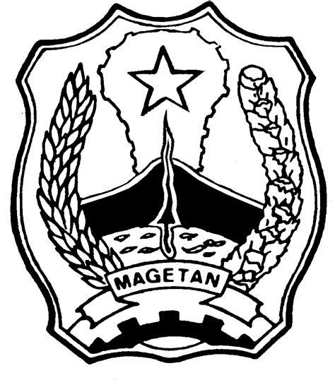 soendoel blog lambang magetan hitam putih