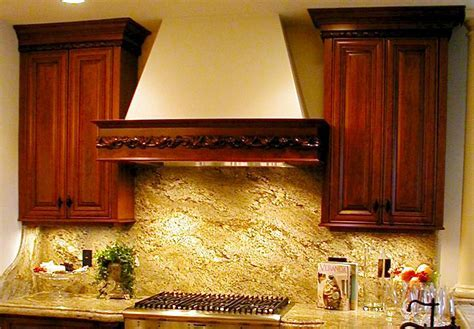 Granite backsplash: Transform your kitchen into pleasing