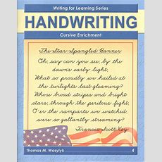 Improving Cursive Writing Book E, 2nd Edition (002833) Details  Rainbow Resource Center, Inc
