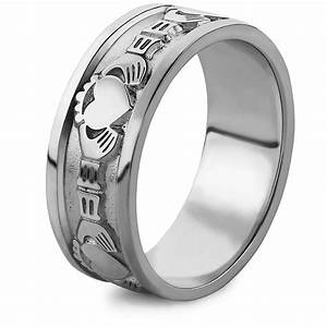 mens silver claddagh ring ms wed2 With claddagh mens wedding ring