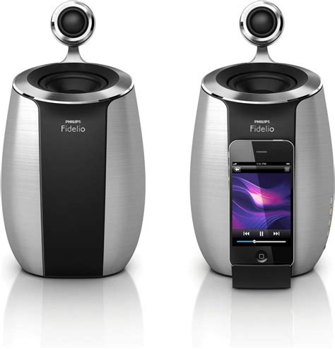 philips fidelio ds6600 soundsphere loud speaker dock system ipod iphone ebay
