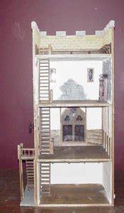 castle  dollhouse kit  miniature
