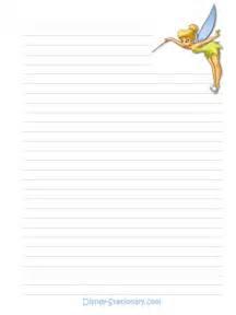 Free Printable Disney Stationary Paper