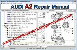 Audi A2 Workshop Repair Manual