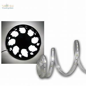 Led Lichtband Dimmbar : 25m led lichtband neutralwei 230v dimmbar ip44 smd lichtstreifen stripe leiste ebay ~ Watch28wear.com Haus und Dekorationen
