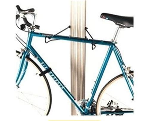 gear up bikes up away aluminum floor to ceiling rack
