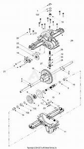Mtd 13bt604g452  2003  Parts Diagram For Transmission