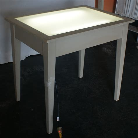 lighted drawing table vintage drafting light table desk wood glass ebay