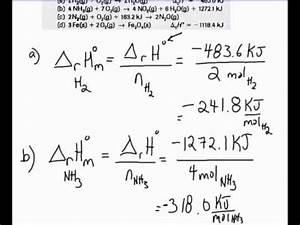 Molare Enthalpie Berechnen : determining molar enthalpies from enthalpy changes for balanced equations youtube ~ Themetempest.com Abrechnung