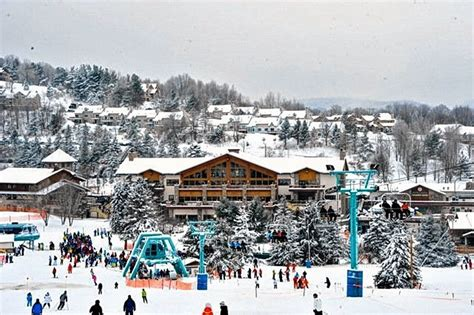 top winter resorts  upstate ny  great places