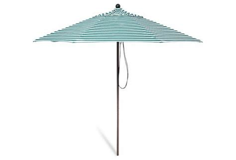 striped patio umbrella green exterior