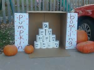 Pumpkin Bowling Trunk or Treat