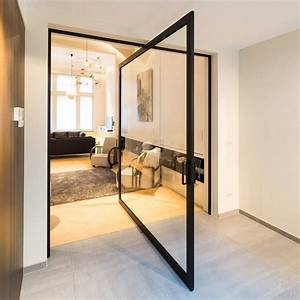 innovative, pivoting, doors, double, as, room, dividers