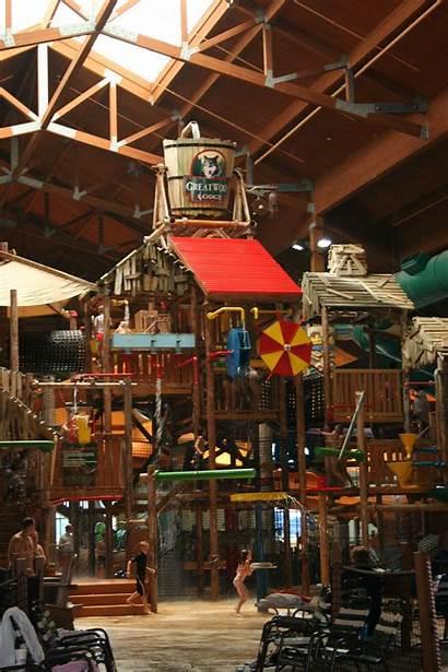 Ohio Sandusky Vacation Wolf Lodge Waterpark Places