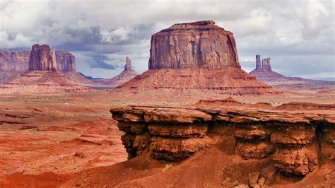 Desert Area Beautiful Summer Landscape Monument Valley