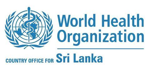 world health organization   sri lanka