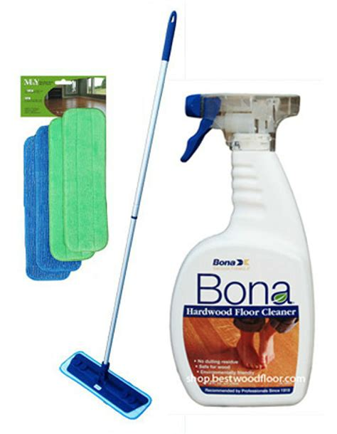 pads swivel microfiber mop kit bona hardwood floor