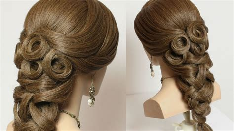 Bridal Hairstyle For Long Hair Tutorial.