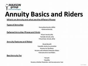 Annuity Basics