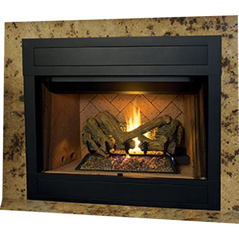 superior fireplace insert ihp superior brt4342tep b 42 quot ng fireplace w whit stckd