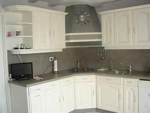 les cuisines de claudine renovation relookage relooking With refaire cuisine en bois