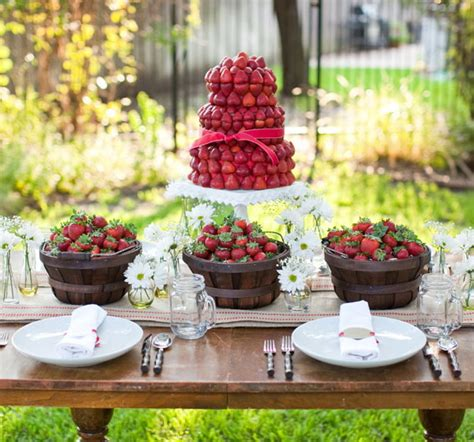 Summer Garden Party Theme  Table Decorating Ideas With