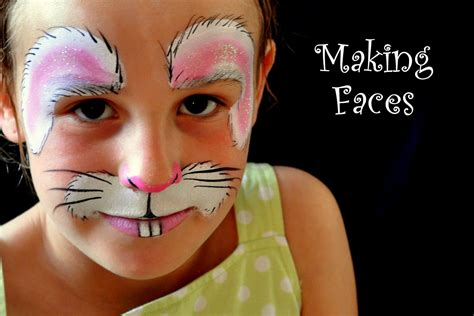 halloween face paint bunny rabbit rabbit face paint