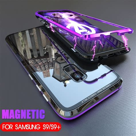 magnetic adsorption case  samsung galaxy  magnet
