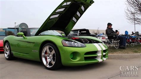 Free to spectators and clean bathrooms! Cars & Coffee - Dallas, TX - February 1, 2014 - YouTube
