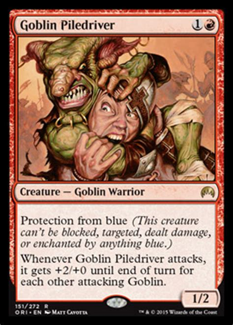Goblin Charbelcher Vintage Deck by Piledriving Modern Prices Speculation