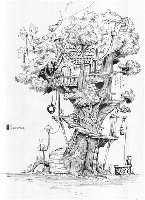 Tree House By Rifknight On Deviantart