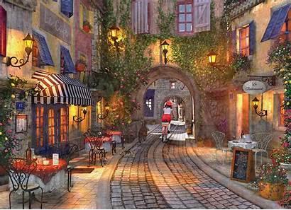 French Dominic Davison Walkway Puzzle Teile