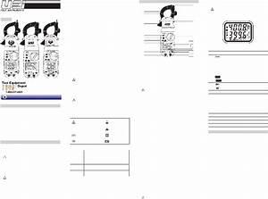 Uei Dl389 Measuring Instruments Instruction Manual Pdf