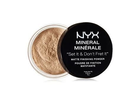 Nyx Mineral Finishing Powder nyx cosmetics mineral finishing powder light medium 0 28