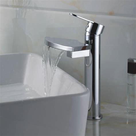 uk kitchen sinks solid brass single handle chrome finish waterfall bathroom 3006