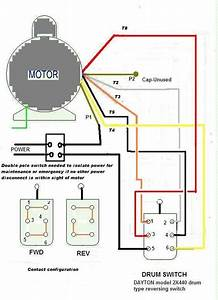 Electric Motor Single Phase Wiring Diagram