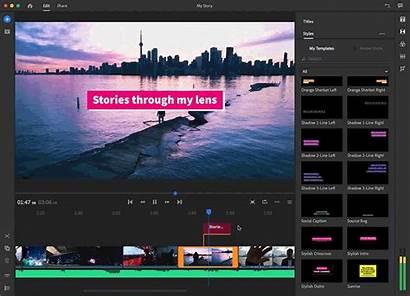 Adobe Rush Premiere Editing Software Ru Bigger