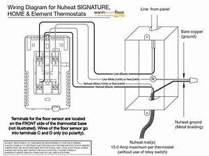 Nuheat Home Thermostat Installation Unique