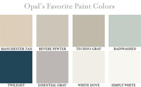 room paint colours opal 39 s favorite paint colors opal design