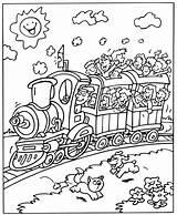 Trein Treinen Coloring Kleurplaten Trains Eisenbahn Kleurplaat Train Ausmalbilder Printable Toy Zum Malvorlagen Voertuigen Zuge Relay Kostenlos Konabeun Stained Ausdrucken sketch template