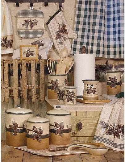 pine cone kitchen accessories اكسسوارات لمطبخك 4223
