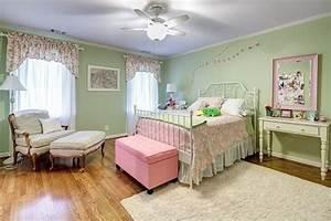 Wandfarbe Flieder Pastell : kinderzimmer jugendzimmer m dchen wandfarbe pastellgr n rosa akzente zimmer emma pinterest ~ Markanthonyermac.com Haus und Dekorationen