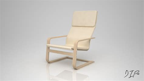 Ikea Pello Chair 3ds