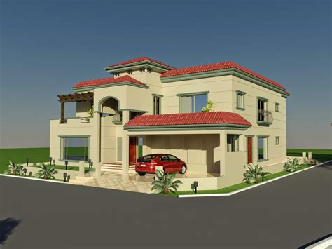 3d House Design : 3d Front Elevation Of House