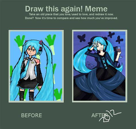 Hatsune Miku Memes - meme before after miku hatsune by caramelgraphic on deviantart