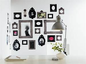 Wandgestaltung Mit Fotos : wandgestaltung mit bilderrahmen planungswelten ~ Frokenaadalensverden.com Haus und Dekorationen