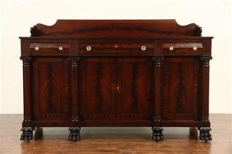 Sideboards And Buffets Vintage by Empire Carved Mahogany 1900 Antique Sideboard Server Or