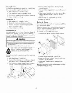 Page 17 Of Craftsman Portable Generator 580 32561 User